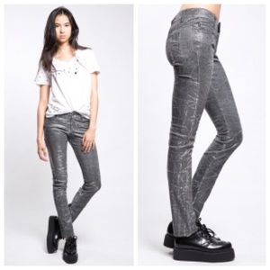 Tripp NYC Daang Goodman Shine On Metallic Jeans